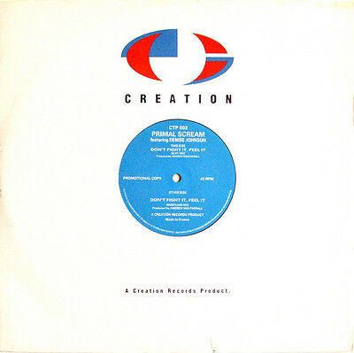 """Primal Scream – Don't Fight It, Feel It (Andrew Weatherall Mixes) 12"""" CREATION"""