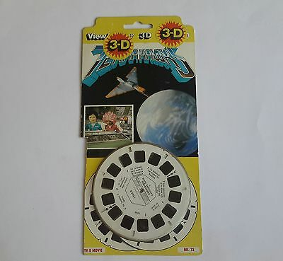 Viewmaster three reel carded packet set 3d Terrahawks Gerry Anderson TV Show