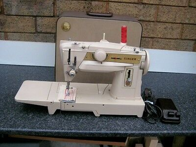 SINGER 431G made in GERMANY BEAUTIFUL MACHINE • EUR 217,75
