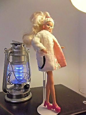 VTG Barbie 1970's Lamb and Leather Coat (all elements in place) worn by Jazzie!