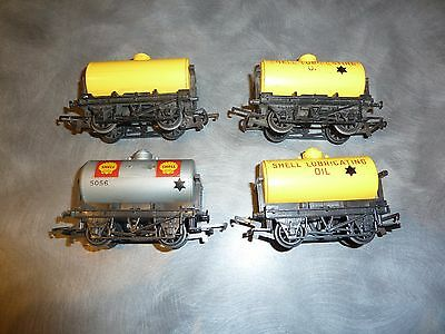 4X Shell Fuel Tankers.