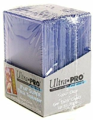25 Ultra Pro 3 x 4 Super Thick Toploaders 75pt