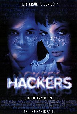 HACKERS 11x17 MINI MOVIE POSTER COLLECTIBLE