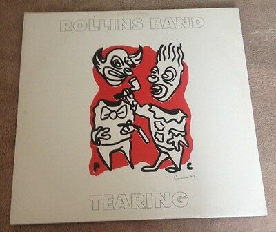 """12""""  Rollins Band Tearing 1992."""