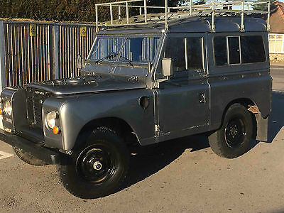 Land Rover Series 3 SWB 1977 (Tax Free) 4cyl petrol Restored 65207m No Reserve
