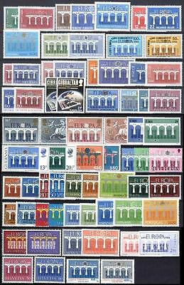 Cept Europa 1984 ** annata completa MNH beautiful and complete collection 108,00