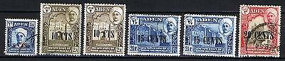 Aden 1951 Shihr and Mukalla - Currency Change - Used & Mint Hinged