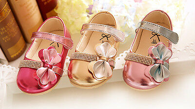 New Baby Girls Sparkling Party Shoes in Gold Pink Hot Pink 3 6 9 12 15 Months