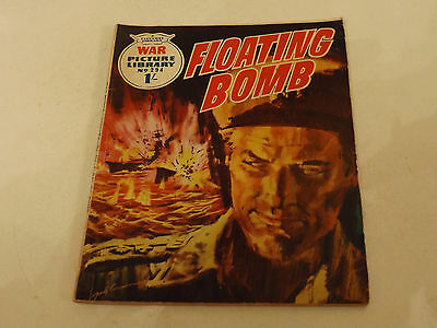 WAR PICTURE LIBRARY NO 294!,dated 1965!,GOOD for age,RARE 51!YEAR OLD issue.