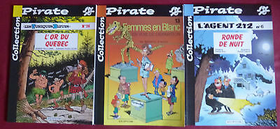 Lot de 3 bd Collection Pirate