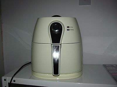 Cook's Essentials Air Fryer with Frying Basket & Grill Rack in Cream