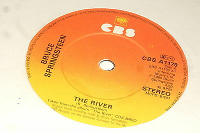 """Bruce Springsteen – The River 7""""    1981     CLASSIC ROCK!!"""
