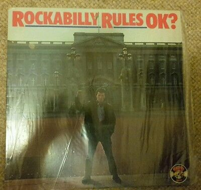 rockabilly rules OK lp Charly records cr30138 rare mint vinyl album various