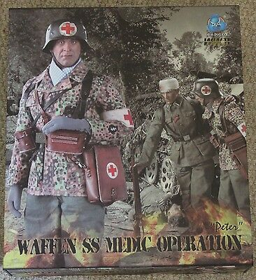 did action figure german peter medic 1/6 12'' boxed hot toy ww11 dragon