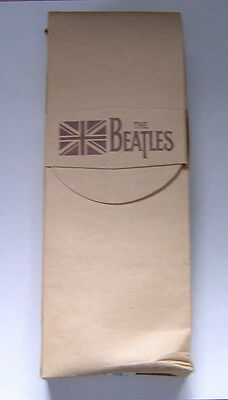Beatles 1993 Commemoration Limited Edition Watch Wooden Guitar Case