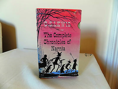 Vintage Children's Book from the 70s The Complete Chronicles of Narnia