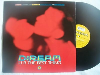 """D:REAM U R The Best Thing 12"""" vinyl Sound Clip in Listing"""