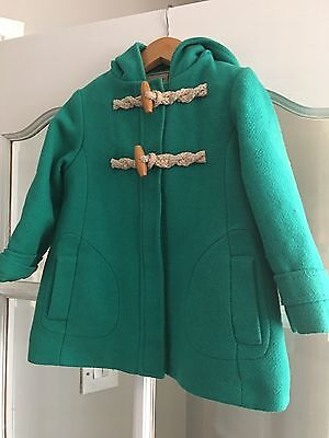 Next Girls Wool Duffle Coat Great Condition 2-3 Years