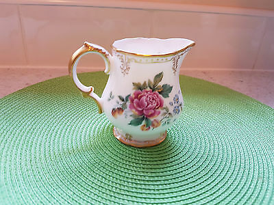 "Royal Crown Derby ""derby Days"" Bone China A.1293 Xlv Milk Jug / Creamer"