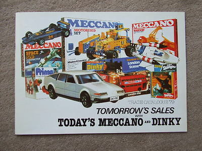 Meccano Dinky Trade Catalogue 1979