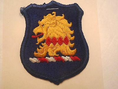 New Jersey State U. S. Army National Guard Embroidered Military Patch