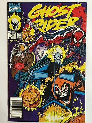 "GHOST RIDER #16 (Aug 1991, Marvel Comics) ""CHANGES..."""