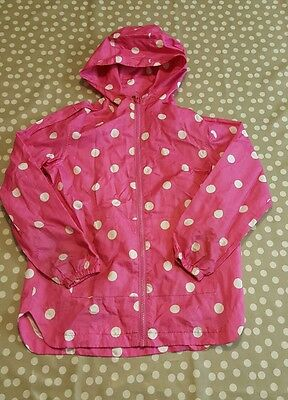 girls lightweight rain jacket next age 9-10