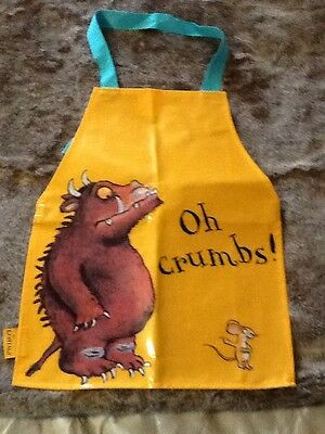Gruffalo New Childs Apron Wipe Clean Vinyl
