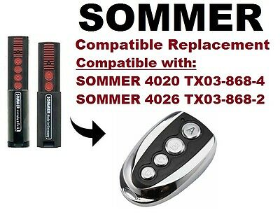 SOMMER 4026 TX03-868-2, 4020 TX03-868-2 Compatible Remote Control