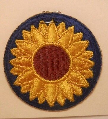 Kansas State U. S. Army National Guard Embroidered Military Patch