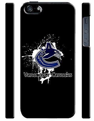 Vancouver Canucks Logo iPhone 4S 5S 5c 6 6S 7 8 X Plus SE Case Cover i2