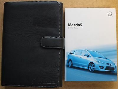 Mazda 5 Handbook Owners Manual Wallet 2005-2008 Pack 12603