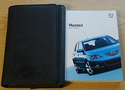 Mazda 3 Handbook Owners Manual Wallet 2003-2006 Pack 7277