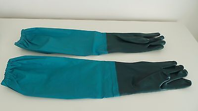 Briers Long Arm Elasticated Top Pond and Drain Clearance Waterproof Gloves Med