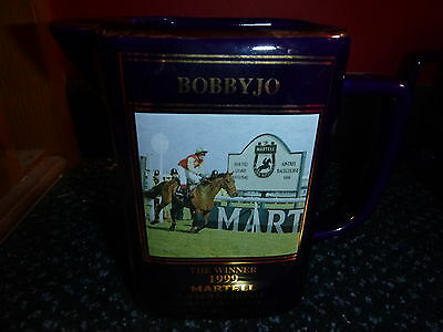 Bobbyjo Limited Editionmartell Grand National Water Jug 199