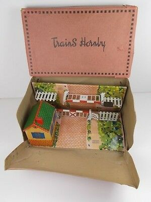 French Hornby O Gauge Level Crossing (Boxed)