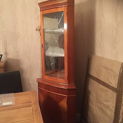Corner Display  Cabinet Excellent Condition