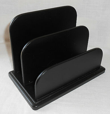 Divided Paper Document Organizer Office Crafts Black Wood Home Target