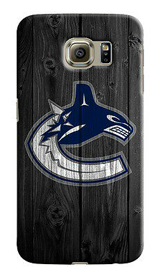 Vancouver Canucks Samsung Galaxy S4 5 6 7 8 Edge Note 3 4 5 8 Plus Case Cover s3