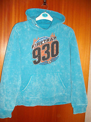 2 Boy's Hoodies Size 13 Years & Small