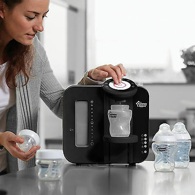 Tommee Tippee Perfect Prep Machine Feed Baby Milk Formula Bottle Maker Black