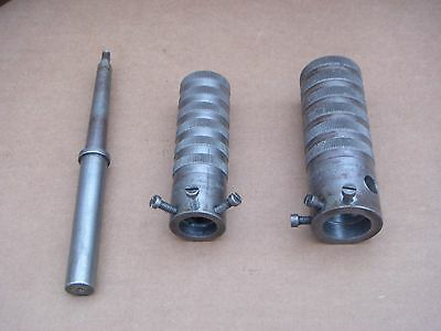 2 Gregory & Sutcliffe Tailstock Dies Holders, Myford Lathe Compatible