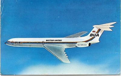 Airline Issue Postcard BUA VC10