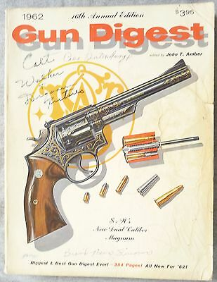 Gun Digest 1962 16Th Annual Edition 384 Pages