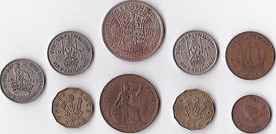 Collection of George VI Coins