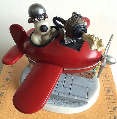 Robert Harrop Wallace & Gromit- Gromit In His Aeroplane
