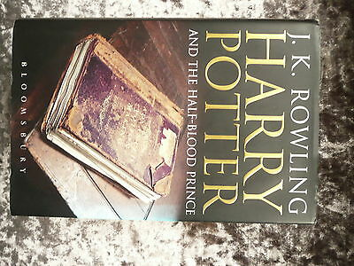 FIRST EDITION w/ ERROR ✰ HARRY POTTER and the HALF BLOOD PRINCE Adult Hardback