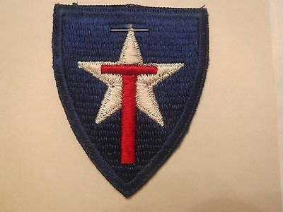 Texas State U. S. Army National Guard Embroidered Military Patch