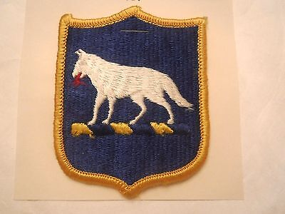 South Dakota State U. S. Army National Guard Embroidered Military Patch