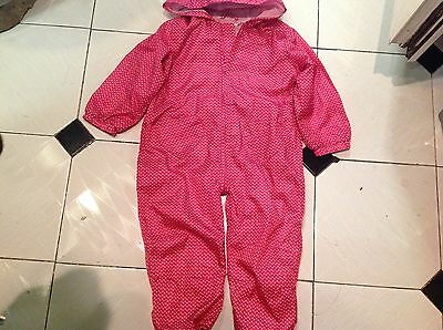 Blue zoo  Puddle Suit Age 3-4 years with reign